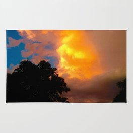 Florida Sunrise Orange Sky Rug