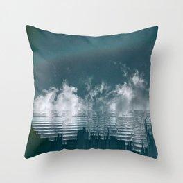 Icing Clouds Throw Pillow