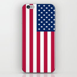 Flag of USA - American flag, flag of america, america, the stars and stripes,us, united states iPhone Skin