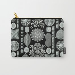 Ernst Haeckel - Scientific Illustration - Diatomea Carry-All Pouch