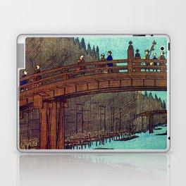Beautiful Evening Across The Bridge Laptop & iPad Skin