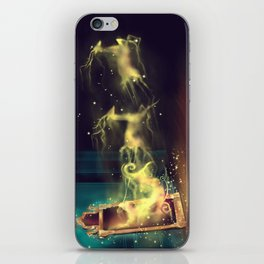Christmas Mirror  iPhone Skin