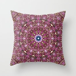 Floral Core Throw Pillow