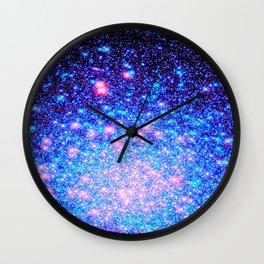 galaxY. : Cosmic Fairy Dust Wall Clock