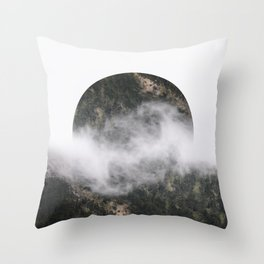Retrograde Throw Pillow