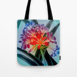 Colorful Flower Bulb Tote Bag