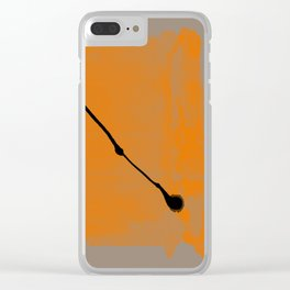 abstract 82 Clear iPhone Case