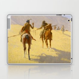 "Frederic Remington Western Art ""The Parley"" Laptop & iPad Skin"