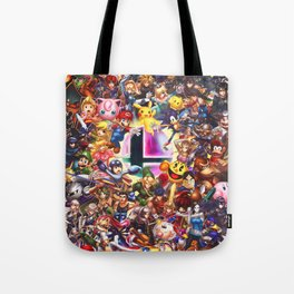 Smash Brothers Tote Bag