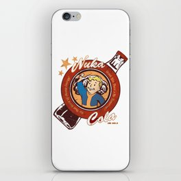 Nuka Cola iPhone Skin
