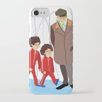 wes anderson iPhone & iPod Cases featuring let's shag ass (wes anderson) by Lindsay Pak
