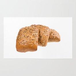 baked graham bread rolls Rug