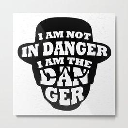The Danger Metal Print