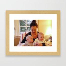hooray for mimi Framed Art Print