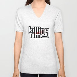 Killing time Unisex V-Neck