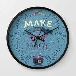 Make Your Own Magic Wall Clock