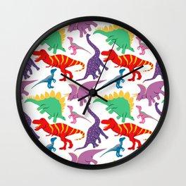 Dinosaur Domination - Light Wall Clock