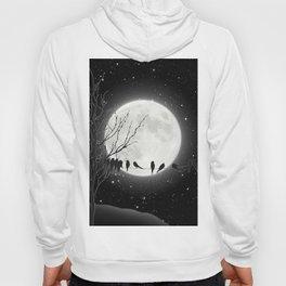 Moon Bath, Birds On A Wire Hoody