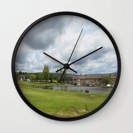 Rochdale Syke pond Wall Clock