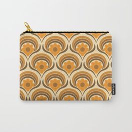 Orange  Daisy Dream Carry-All Pouch