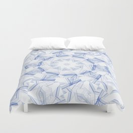 artistic abstract background Duvet Cover
