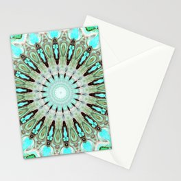 Tropical Floral Mandala Stationery Cards