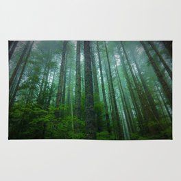 Misty Mountain Forest Rug