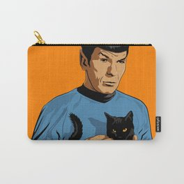 Spock's cat Carry-All Pouch