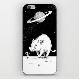 Edge of the universe: Warthog iPhone Skin