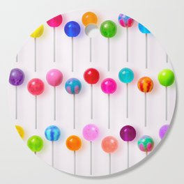 Lollipop Rainbow Cutting Board