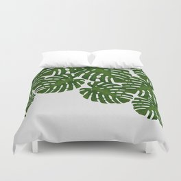 Monstera Leaf I Duvet Cover