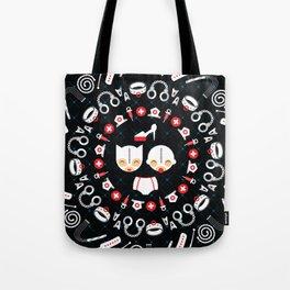 Happy Dom + Gimp Tote Bag