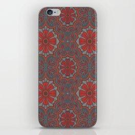 """""""Scarlet flower"""" iPhone Skin"""