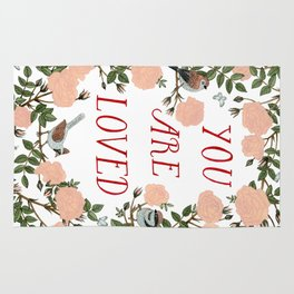 You Are Loved Rug