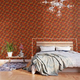 60s Eye Pattern Wallpaper