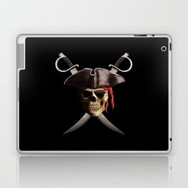 Pirate Skull And Swords Laptop & iPad Skin