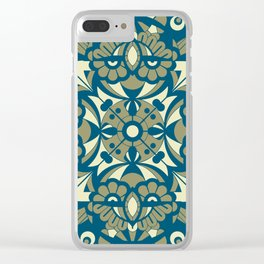 Laughing Faces_Sandy Beach Clear iPhone Case