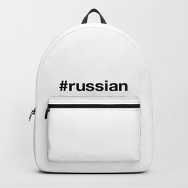 RUSSIAN Backpack