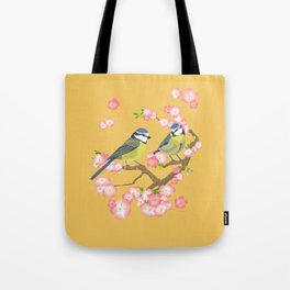 Spring Blossoms (gold) Tote Bag