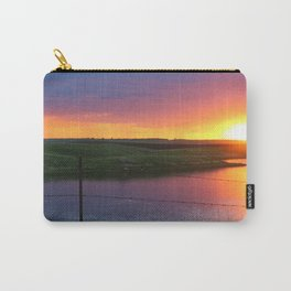North Dakota Sunset Carry-All Pouch