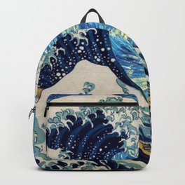 Starry (Great Wave) Night Backpack