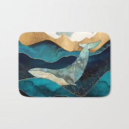 Blue Whale Bath Mat