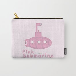 Pink submarine Carry-All Pouch