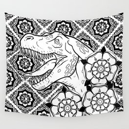 dino damask Wall Tapestry
