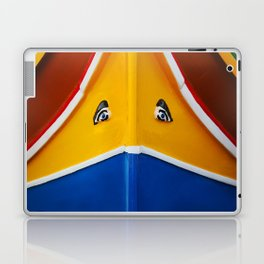 Maltese Boat - Luzzu Colours  Laptop & iPad Skin
