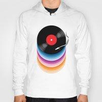 vinyl Hoodies featuring Vinyl by jun salazar