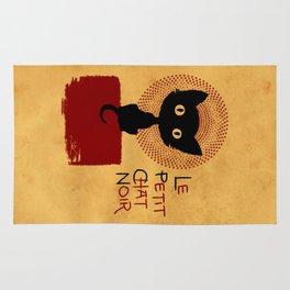 Le Petit Chat Noir Rug