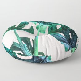 Wild Leaves Floor Pillow