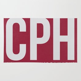 CPH Copenhagen Luggage Tag 2 Rug