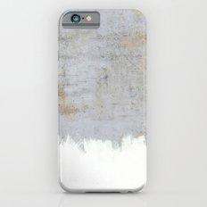 Painting on Raw Concrete iPhone 6 Slim Case